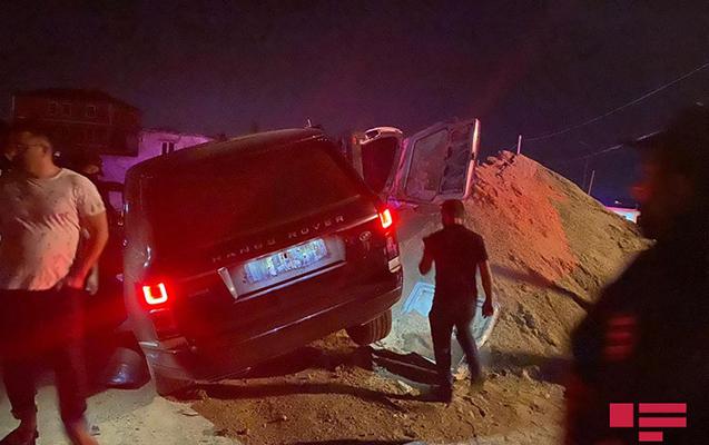 """""""Range Rover""""i Elşad Kəlbəliyevin sürdüyü təsdiqləndi, həbs edildi"""