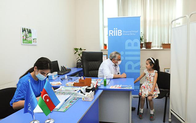 Regionlarda uşaqlar arasında onkoloji müayinələr aparılır