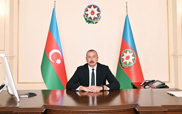 Prezident İƏT-in Zirvə toplantısında çıxış etdi