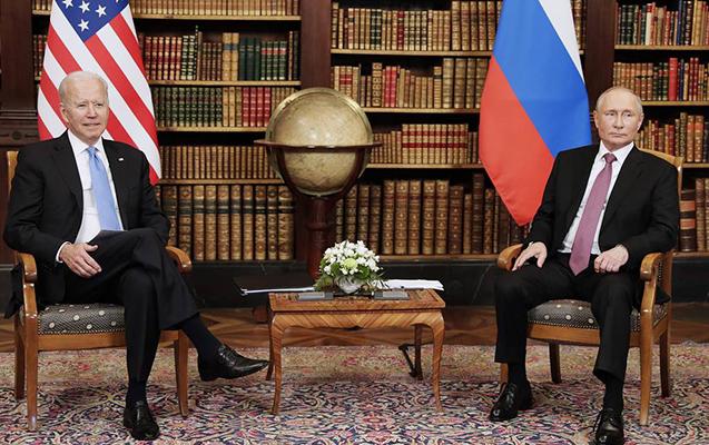 Putinlə Baydenin Cenevrə görüşü başa çatdı