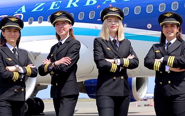 AZAL-ın ilk qadın pilotları