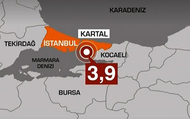 İstanbulda zəlzələ oldu
