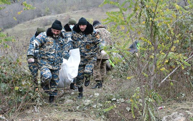 Daha 1 erməni hərbçinin meyitinin qalıqları təhvil verildi