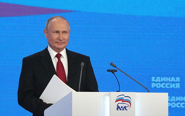 """Putin """"Vahid Rusiya"""" siyahısına liderliyə namizədlərini açıqladı"""