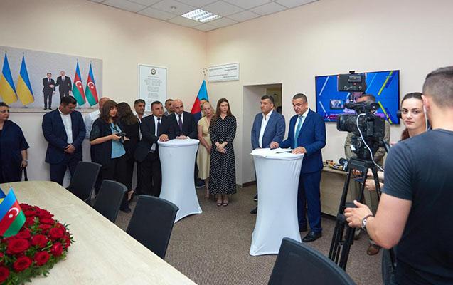 Odessada Azərbaycan Evi açıldı