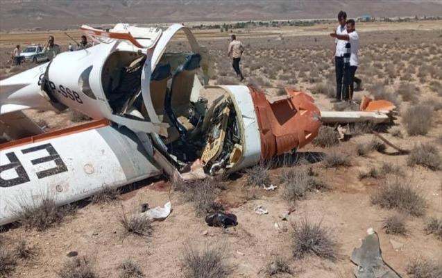 İranda təyyarə qəzaya uğradı, hər iki pilot öldü