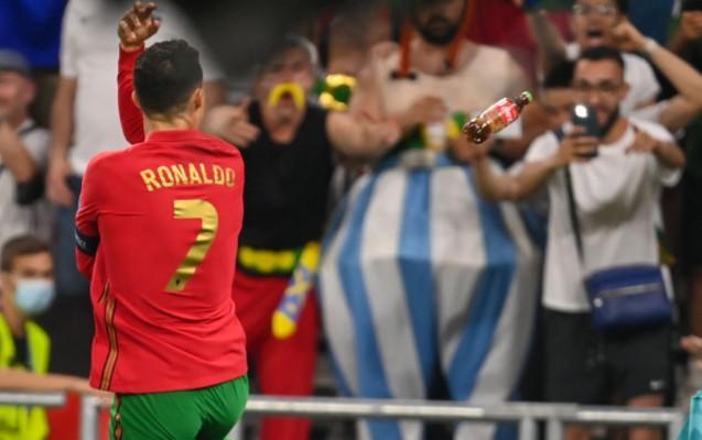 "Ronaldoya ""Coca-cola"" atdılar"