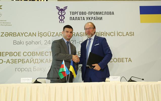 Azərbaycan-Ukrayna İşgüzar Şurası yaradıldı