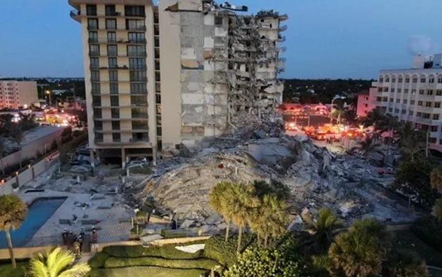 ABŞ-da 12 mərtəbəli bina çökdü, ölənlər var
