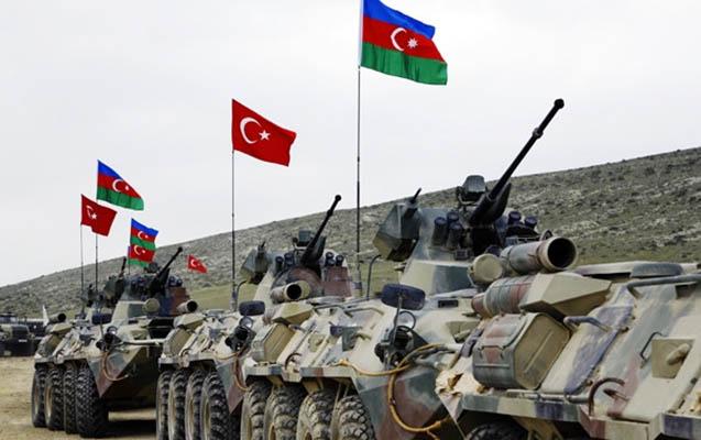 Azərbaycanla Türkiyə Bakıda hərbi təlimlərə başladı