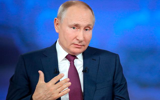 Putin Zəngəzur dəhlizindən danışdı