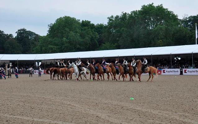 """Qarabağ atları """"Royal Windsor Horse Show"""" adlı tədbirdə nümayiş etdirildi"""