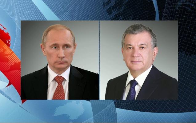 Putin Özbəkistan Prezidenti ilə Əfqanıstandakı vəziyyəti müzakirə edib