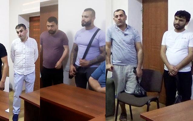 """Sosial şəbəkələrdə """"patı"""" satan 9 nəfər saxlanıldı - Video"""