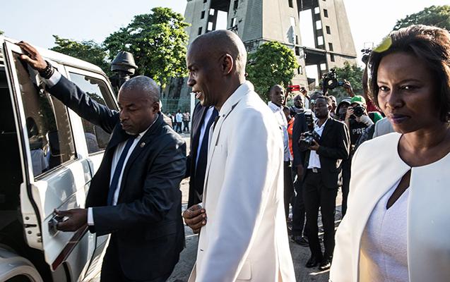 Haiti Prezidenti ilə xanımı qətlə yetirildi