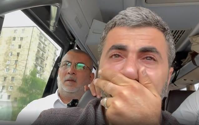 Şuşaya gedən Zaur ağladı