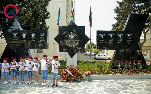 Polad Həşimovun adına park istifadəyə verildi