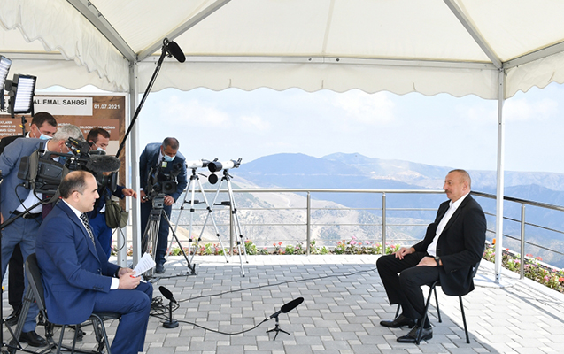 Prezidentin AzTV-yə müsahibəsinin - Tam mətni