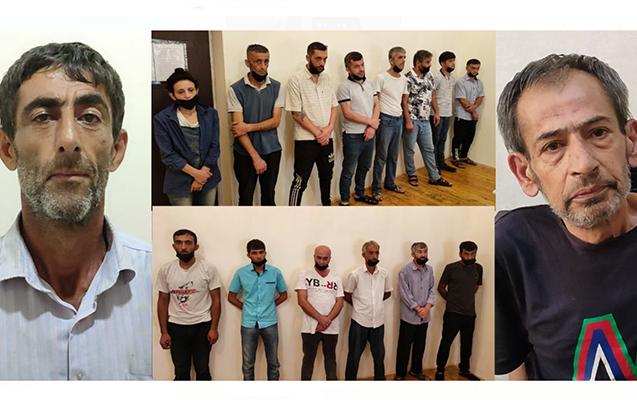 """Lənkəranda """"patı"""" satan 15 kişi və 1 qadın saxlanıldı"""