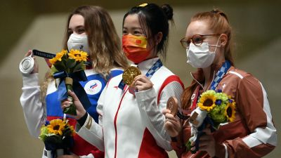 Olimpiadada ilk qızıl medalın sahibi bəlli oldu