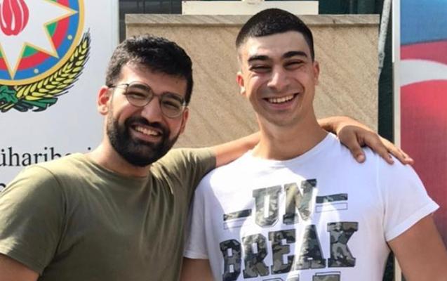Şəhid polkovnik İlqar Mirzəyevin oğlu əsgərliyə getdi