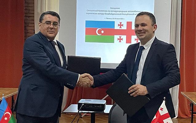 Azərbaycan-Gürcüstan Qarışıq Komissiyasının növbəti iclası keçirildi