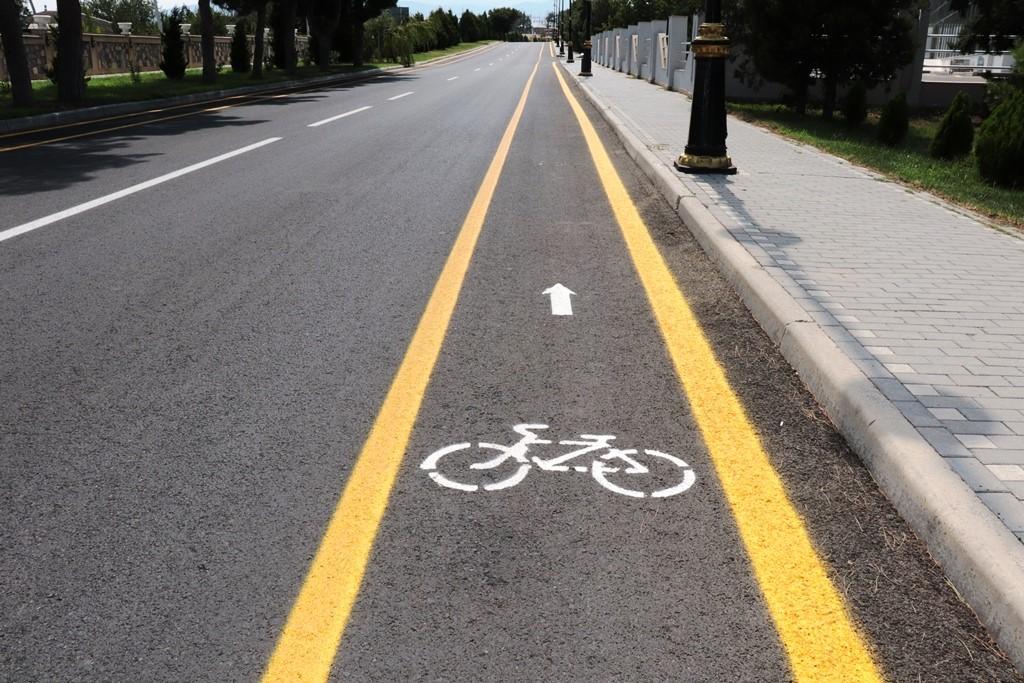 Ölkədə ilk veloyol istifadəyə verildi -