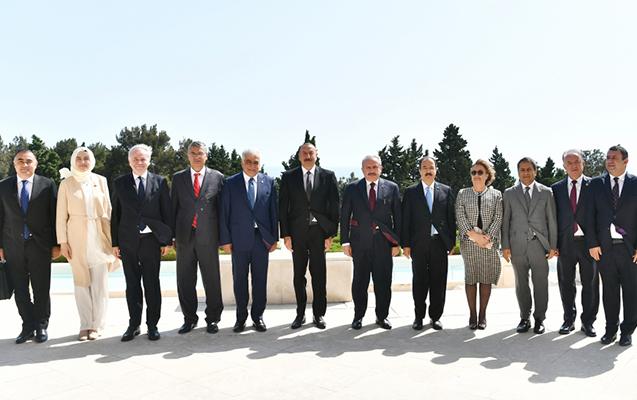 Prezident Türkiyə nümayəndə heyətini qəbul etdi  - Foto