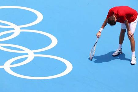 Rus idmançı Olimpiadada çətin duruma düşdü