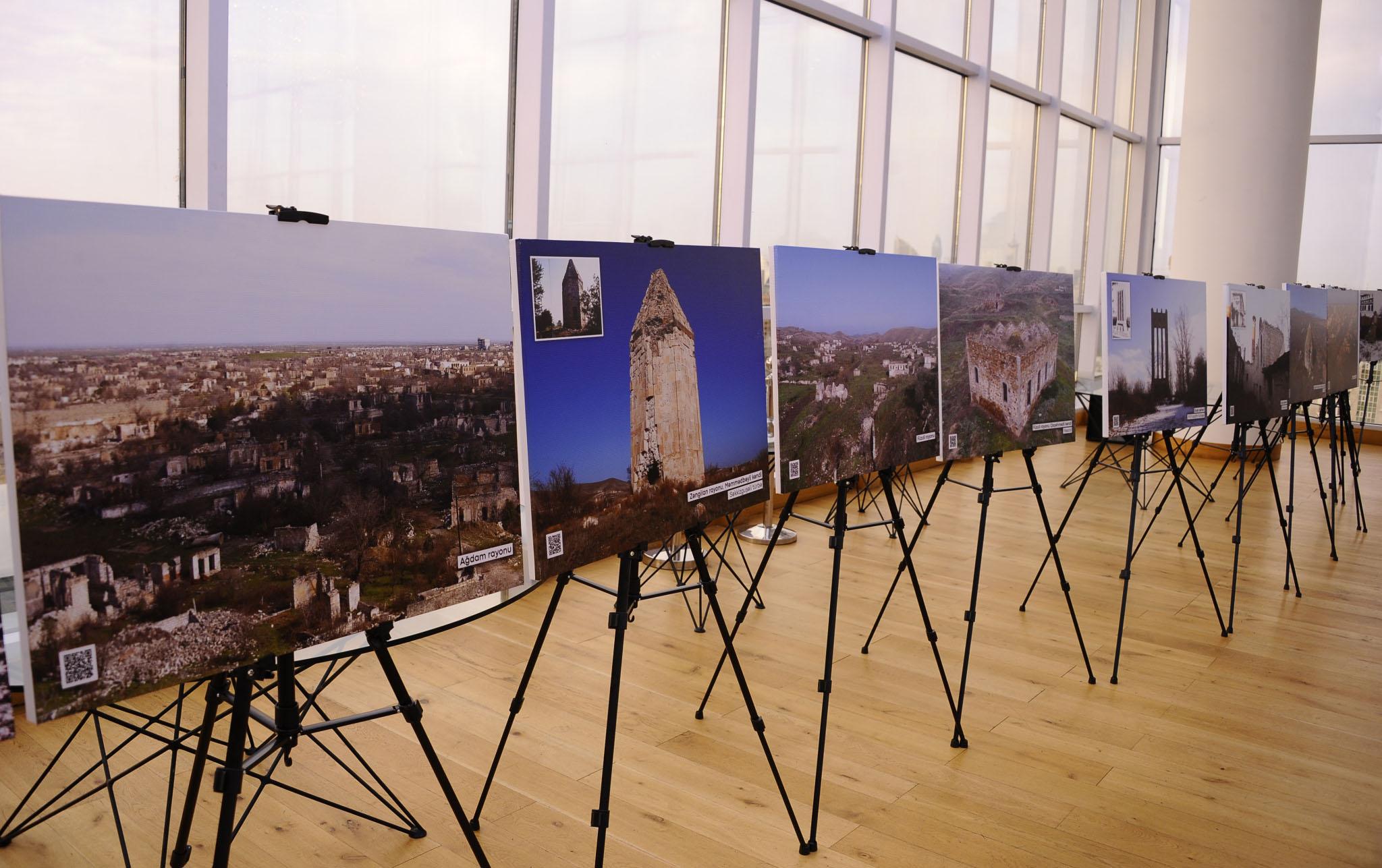 """""""Karabakh.Center"""" layihəsi əsasında fotosərgi keçirildi"""