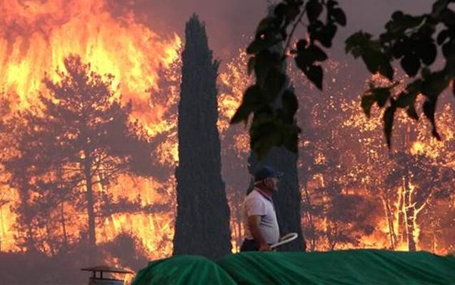 Antalyada meşə yanğınlarında 3 nəfər ölüb