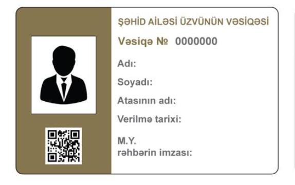 5 540 şəhid ailəsi üzvünə vəsiqə təqdim olunub