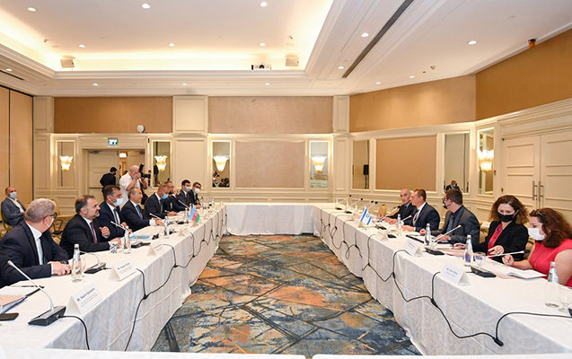 Azərbaycan-İsrail iqtisadi əlaqələri genişlənir