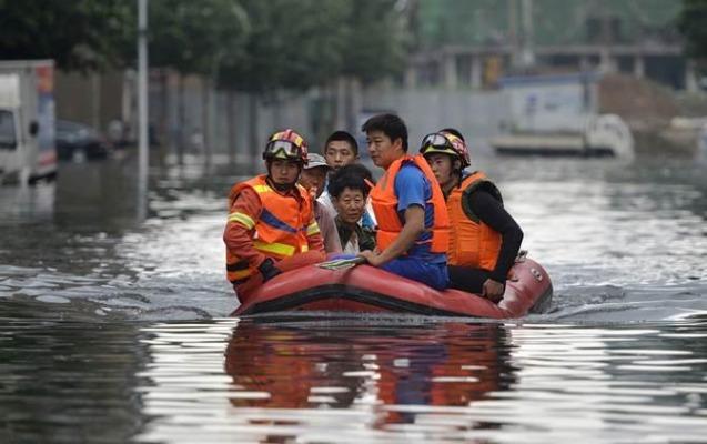 Çində daşqınlar 21 nəfərin həyatına son qoydu