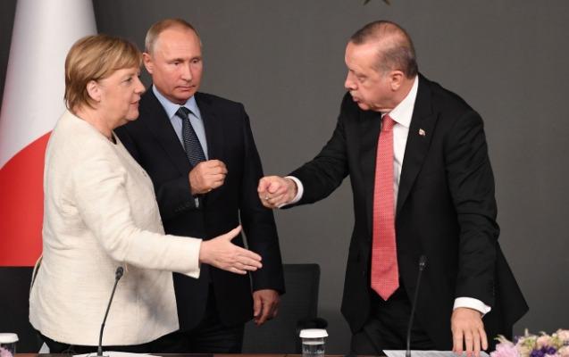 Ərdoğan Putin və Merkellə danışıqlar aparacaq