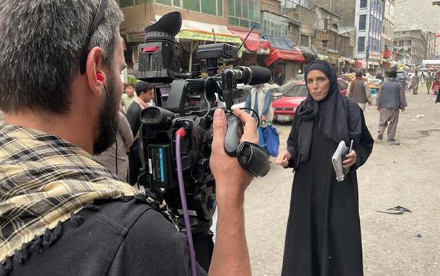 """""""Taliban"""" """"CNN""""in çəkiliş qrupuna hücum etdi"""