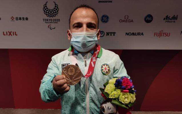 Azərbaycan Tokio Paralimpiya Oyunlarında ilk medalını qazandı