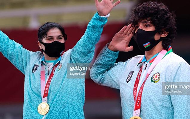 Paralimpiya çempionlarımız ADPU dosentinin övladlarıdır