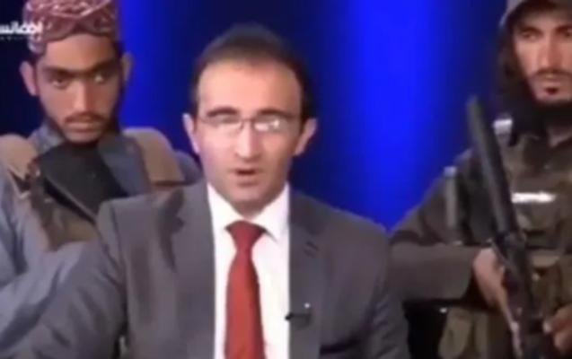 """""""Taliban"""" üzvləri silahla canlı yayıma çıxdı - Video"""