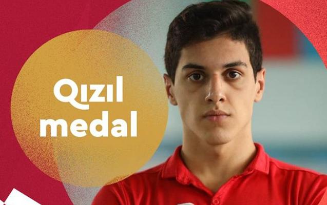 Azərbaycan 11-ci QIZIL medalını