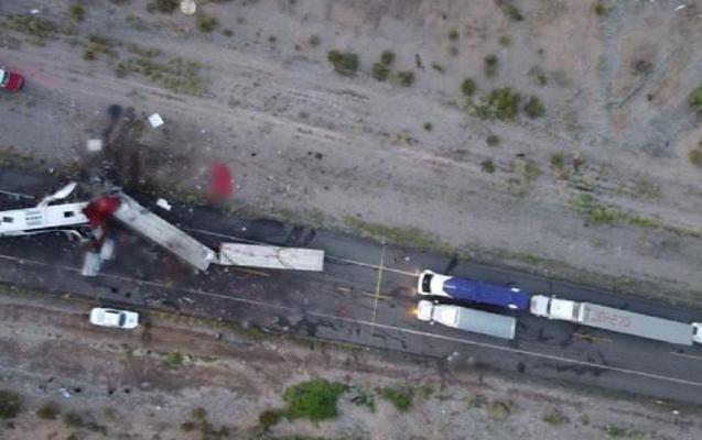 Meksikada dəhşətli qəza - 16 ölü, 22 yaralı
