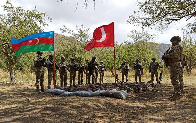 Laçında Azərbaycan-Türkiyə birgə təlimi başladı