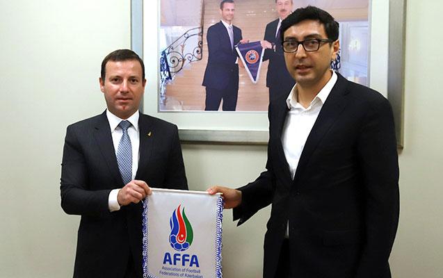 Yeni nazir AFFA-ya gəldi, ona hesabat verildi