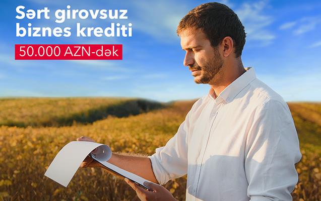 AccessBank-dan sərt girovsuz mikro və aqro kreditlər!