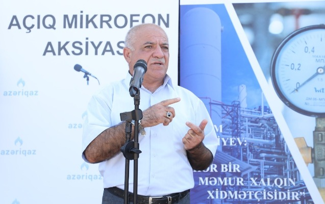 """Növbəti """"Açıq mikrofon"""" Siyəzəndə təşkil olundu"""