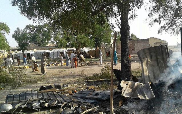 Nigeriyada aviazərbələr nəticəsində ölənlər var