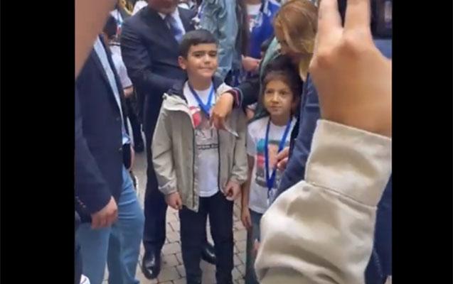 Şəhid övladı Şuşada ad gününü qeyd etdi - Video