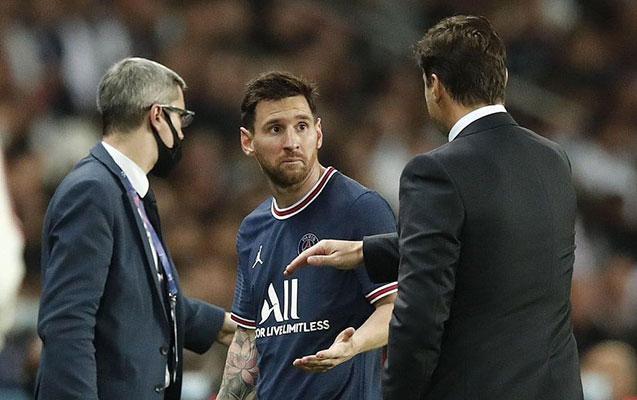 Messi ilə Poçettino arasında qalmaqal - Video