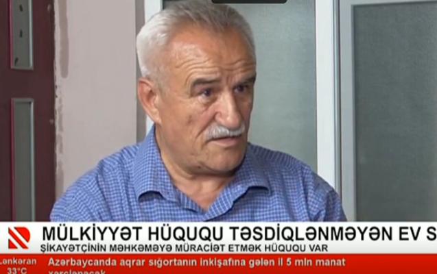Tanınmış şair 40 ildir yaşadığı evini sənədləşdirə bilmir