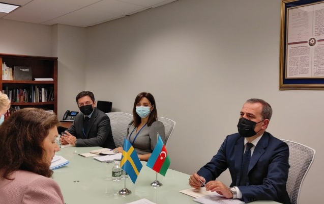 Ceyhun Bayramov ATƏT sədri ilə görüşdü